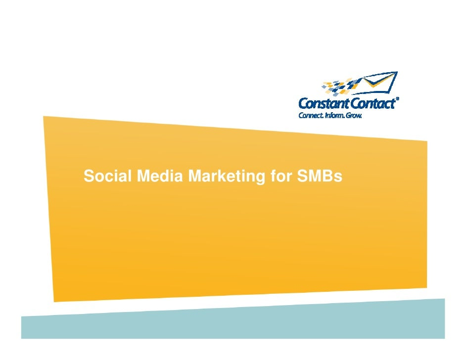 Social Media Marketing for SMBs