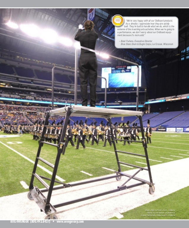Avon High School, Avon, Indiana Music for All Bands of America Grand Nationals, Indianapolis, Indiana 800.4WENGER (800.493...