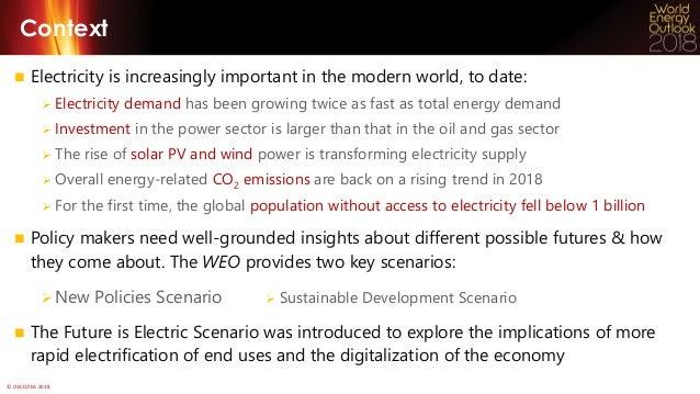 WEO-2018 Electricity Webinar Slide 2