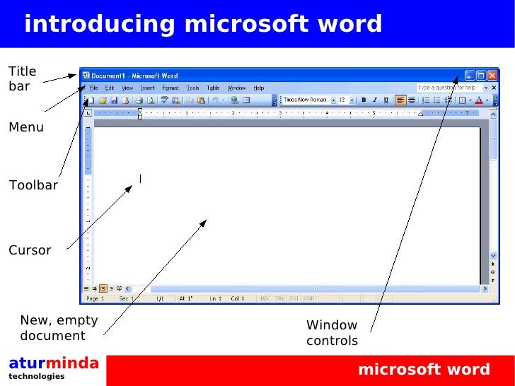 Microsoft Office Word Basics Training
