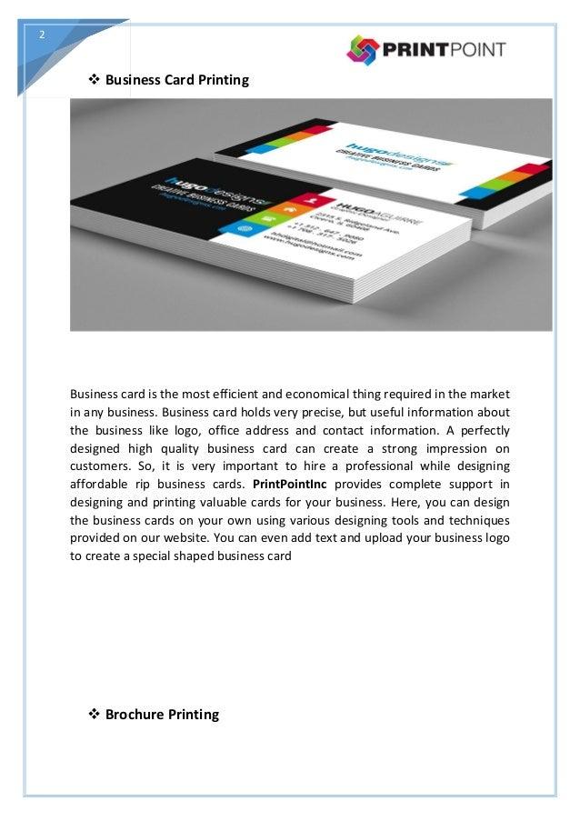 Online printing company palatine business card brochure for Online business cards printing
