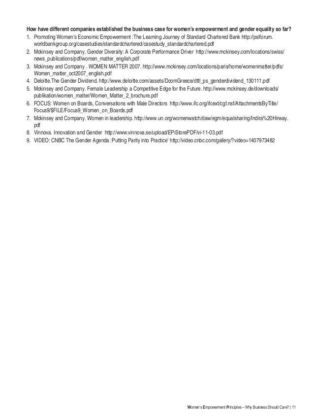 Bibliography for gender essay