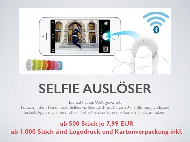 SELFIE AUSLÖSER  Darauf hat die Welt gewartet:  Fotos mit dem Handy oder Selfies via Bluetooth aus bis zu 20m Entfernung a...