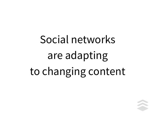 We're failing on social media because we're failing to adapt as fast as the social networks are.
