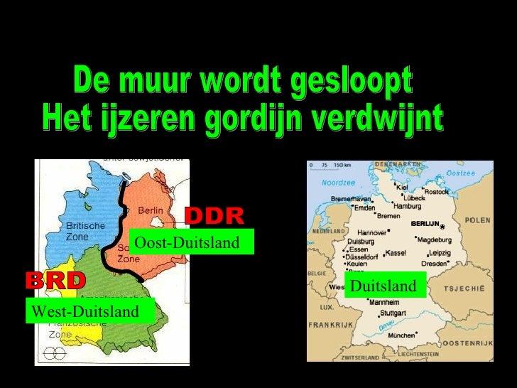 Duitsland en Berlijn tijdens de Koude Oorlog