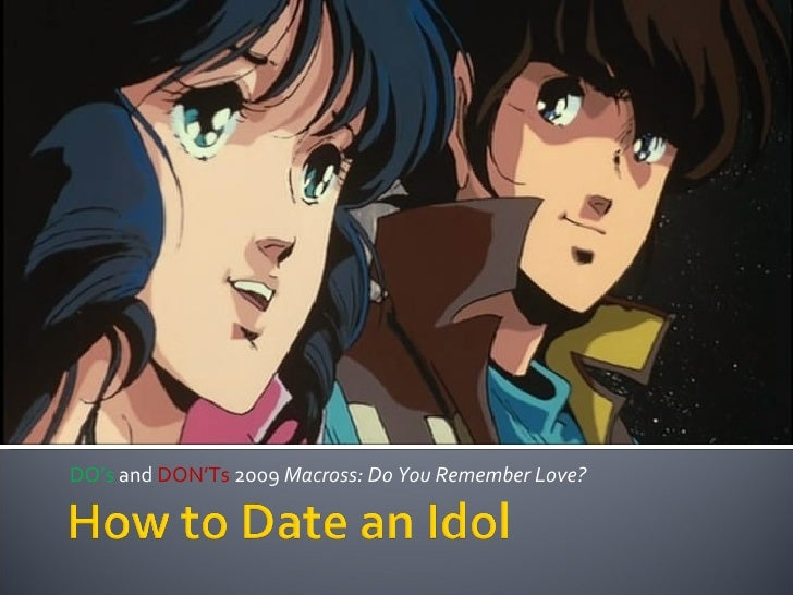DO's  and  DON'Ts  2009  Macross: Do You Remember Love?