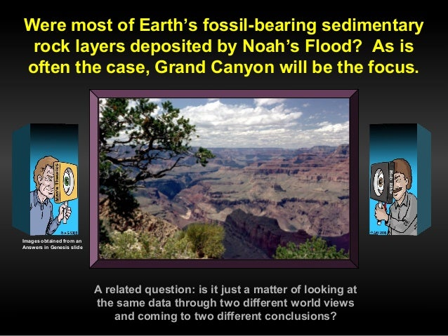 Were Most of Earth's Fossil-Bering Sedimentary Rock Layers Deposited by Noah's Flood? Slide 3