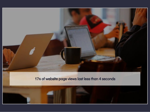 17% of website page views last less than 4 seconds