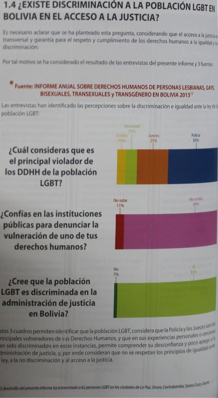Informe de Derechos Humanos de la población LGBT