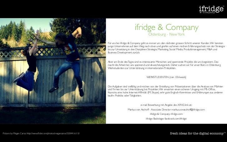 ifridge & Company                                                                                                         ...