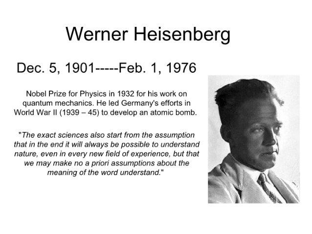 Werner heisenberg noe-bedoy