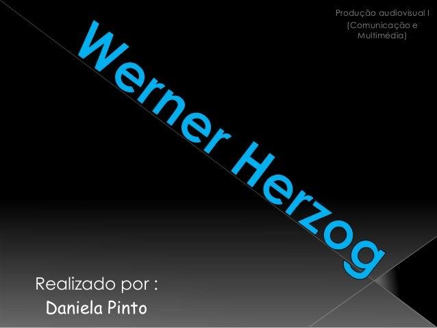 Produção audiovisual I                     (Comunicação e                       Multimédia)Realizado por : Daniela Pinto