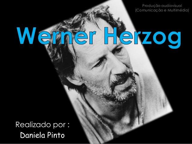 Produção audiovisual                  (Comunicação e Multimédia)Realizado por : Daniela Pinto