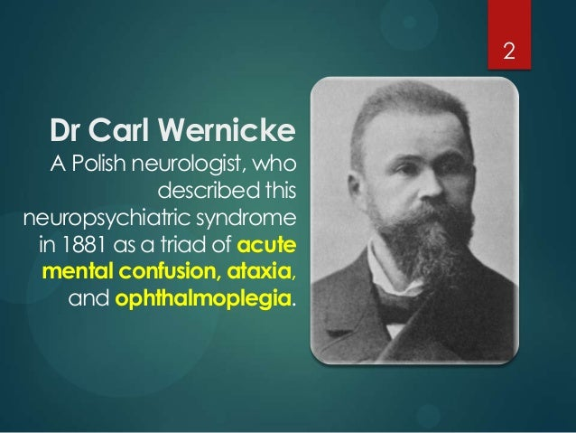 wernicke u2019s encephalopathy