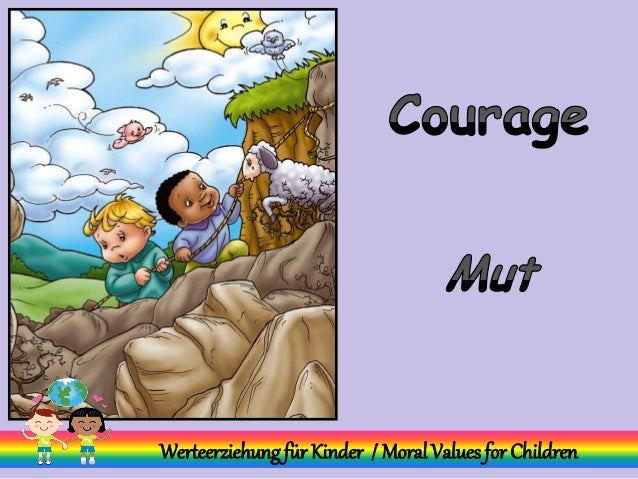 Werteerziehungfür Kinder / MoralValuesfor Children