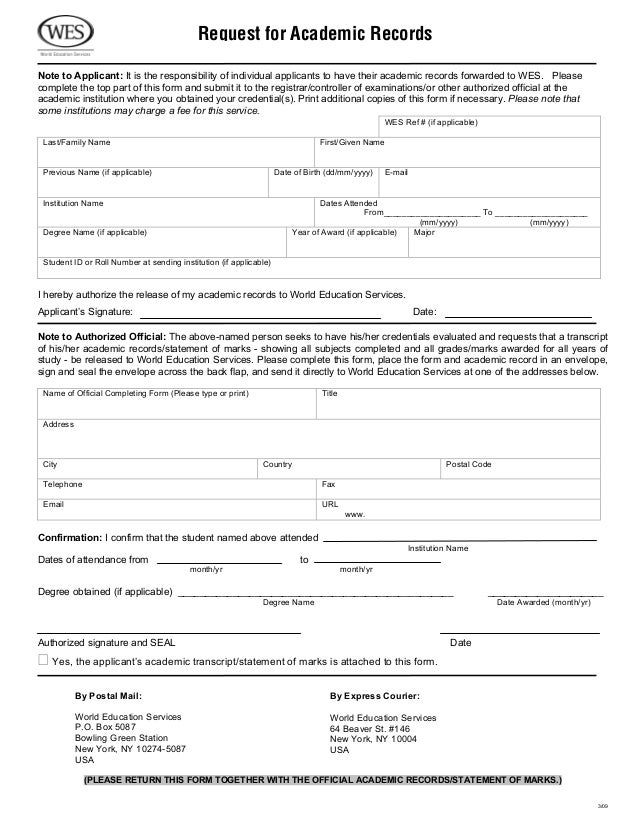 Wes Application