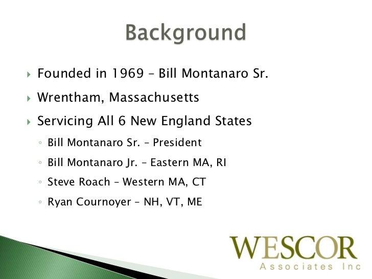Wescor Final Draft,2 25 11 Slide 2