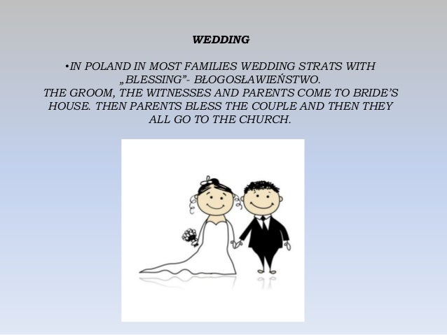 """WEDDING •IN POLAND IN MOST FAMILIES WEDDING STRATS WITH """"BLESSING""""- BŁOGOSŁAWIEŃSTWO. THE GROOM, THE WITNESSES AND PARENTS..."""