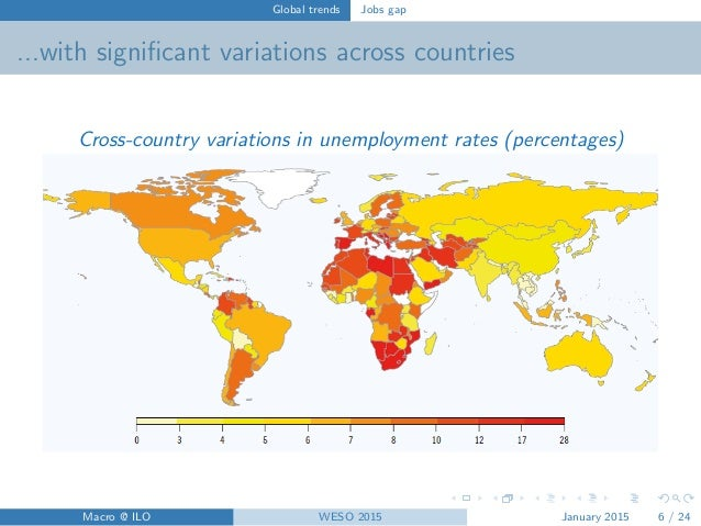 World Employment And Social Outlook Trends 2015