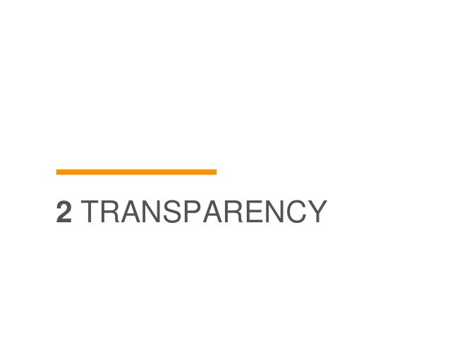 2 TRANSPARENCY