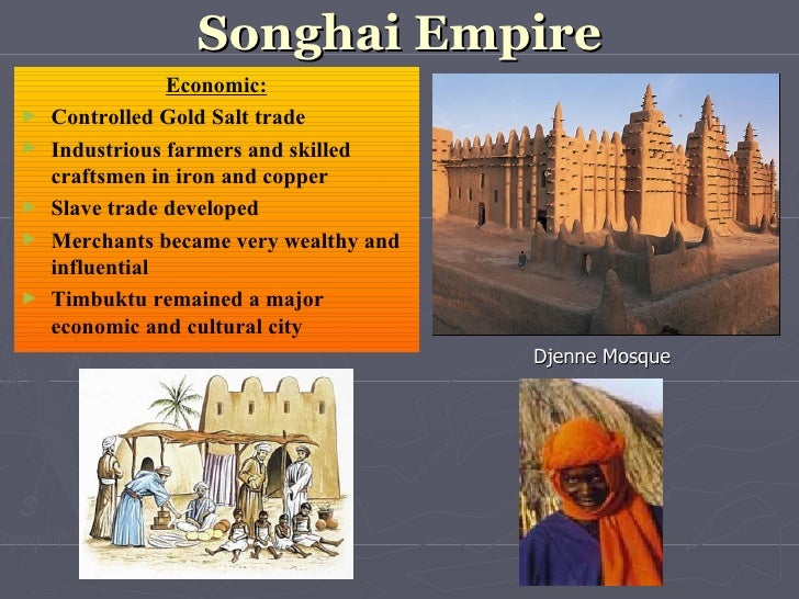 african kingdoms the songhai empire However, during the 15th, the mali would begin to experience competition from other local kingdoms, the greatest of which would eventually become the songhai empire, which was originally a mali vassal before it broke free of the mansa's rule.