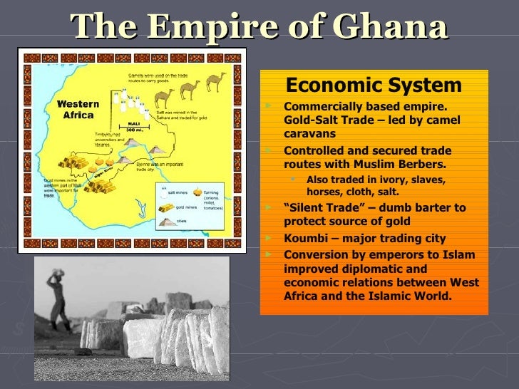 which west african kingdom was the first to benefit from the gold and salt trade