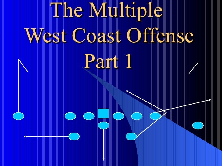 The Multiple  West Coast Offense Part 1