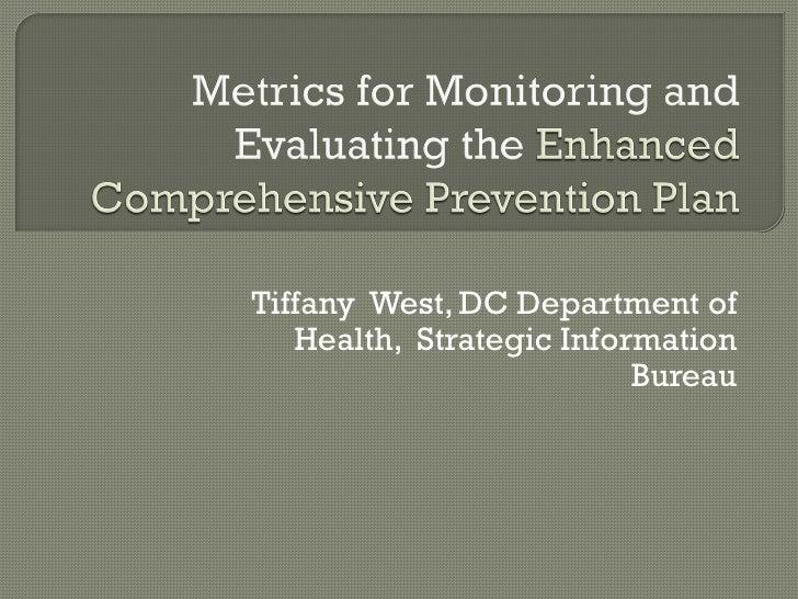 Tiffany West, DC Department of   Health, Strategic Information                          Bureau