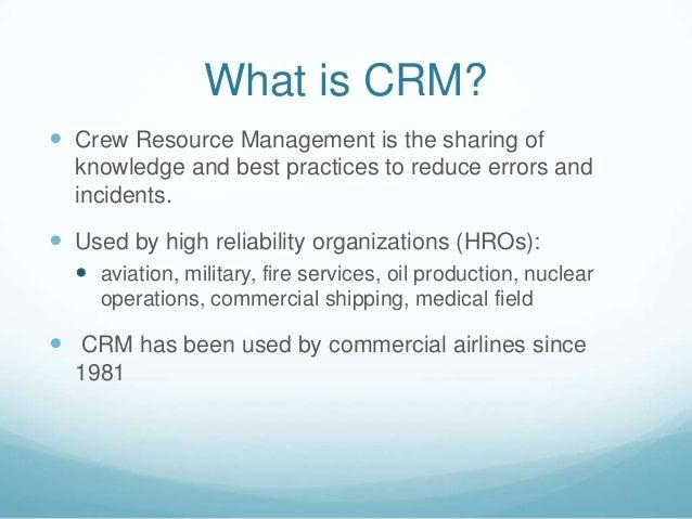 Crew Resource Management - PowerPoint PPT Presentation