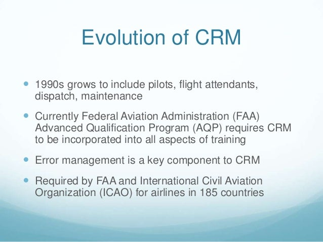Crm for single pilots dating 6