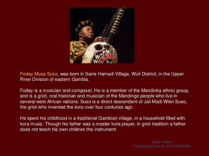 west african music assessment West africa: the empires of ghana, mali,  west african people lived as hunter-gatherers • eventually people began to develop new technologies and advanced cultures.
