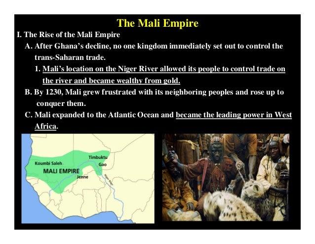 Mongol and Mali Empire Compare and Contrast
