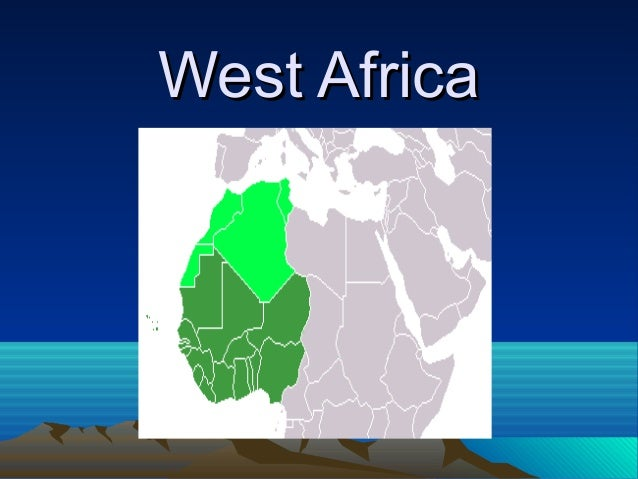 West AfricaWest Africa