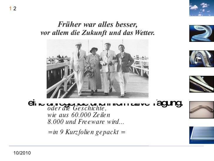 <ul>Vertretertagung Frankfurt/Main 22. + 23.10.2010 </ul><ul>Herzlich Willkommen und eine anregende und informative Tagung...