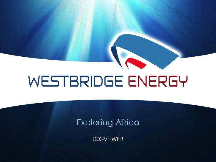 Exploring Africa    TSX-V: WEB