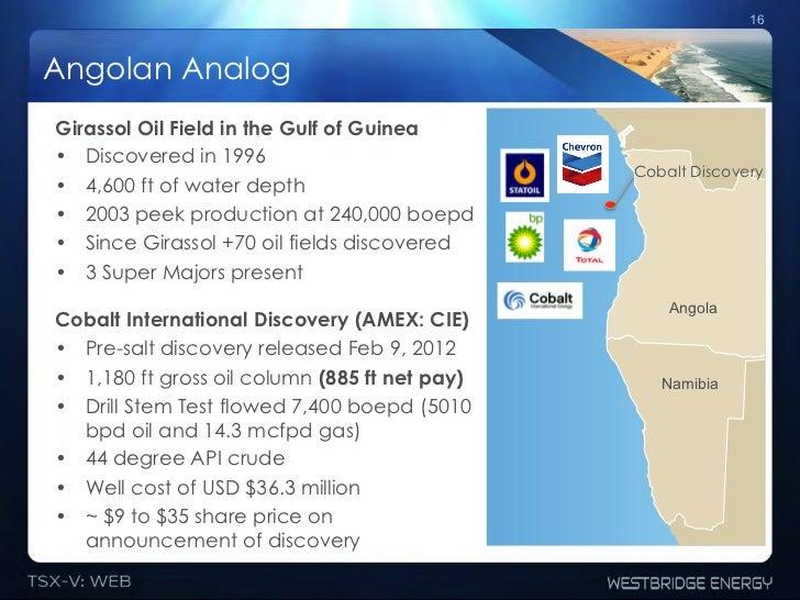 16Angolan AnalogGirassol Oil Field in the Gulf of Guinea• Discovered in 1996                                             ...