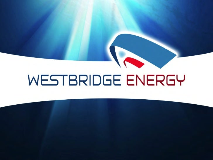 Westbridge ppt-2012-08-30