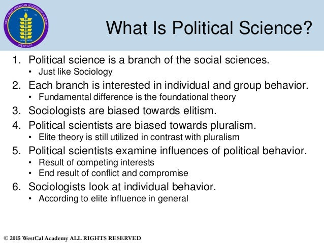 """the role of pluralism and elite theory in political sciences Besides pluralism and elitism, some other theories have also emerged, most  to  understand interest groups from the early years of political science research""""."""