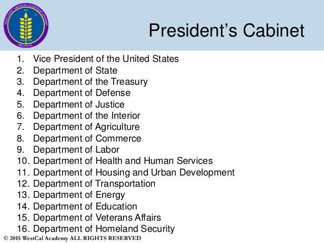 Cabinet Positions Us Gov - thesecretconsul.com