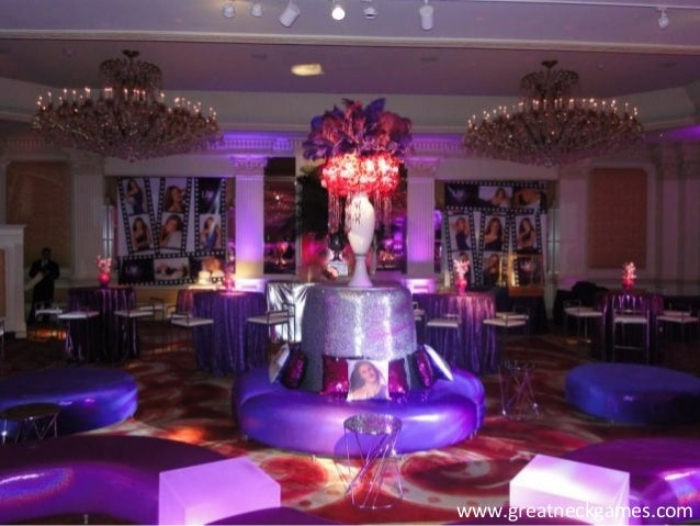 westchester county party decoration ideas