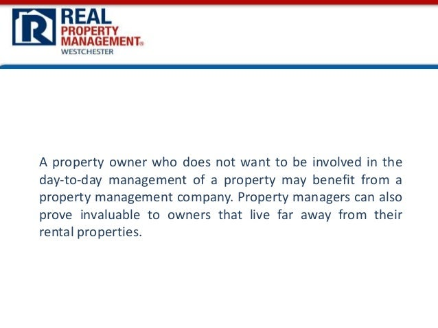 Westchester Property Management Companies