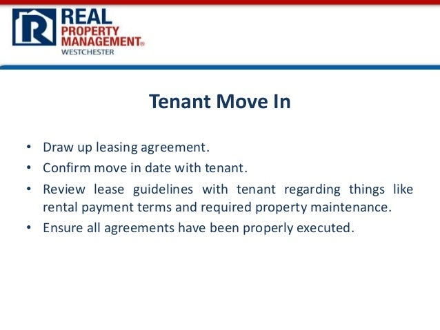 Services Offered By A Rental Property Management Company In Westchest