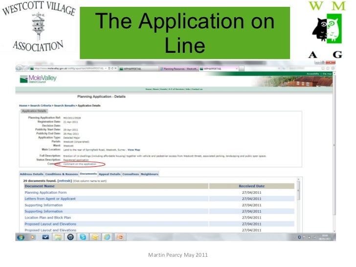 where to find application receipt petition number