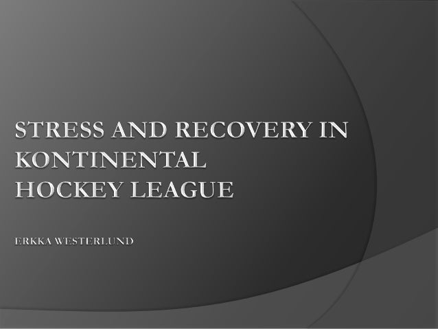 PURPOSE OF STUDY  Get more information from the recovery of the players during the playing season.  Find out the individ...