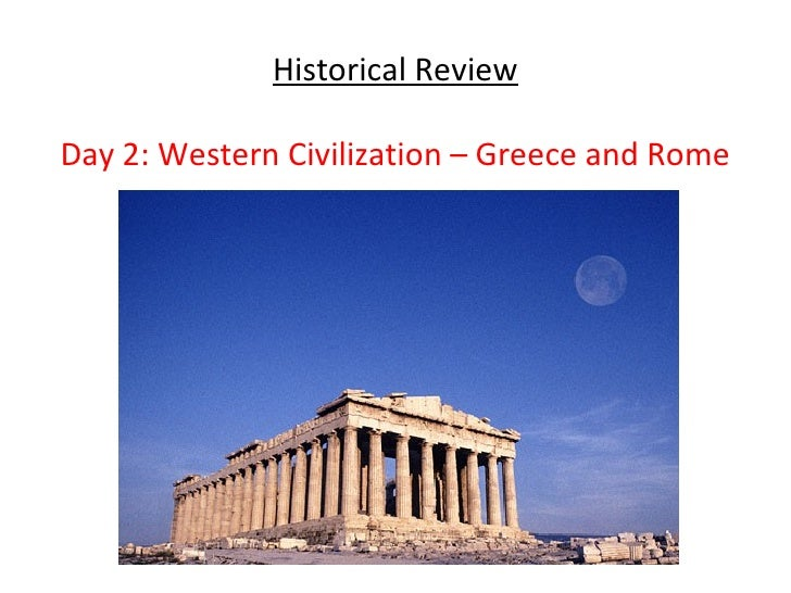 a comparison between the greek civilization and roman civilization The contrast and comparison between the ancient greeks and  greek and roman influances on modern western civilization greek and roman.