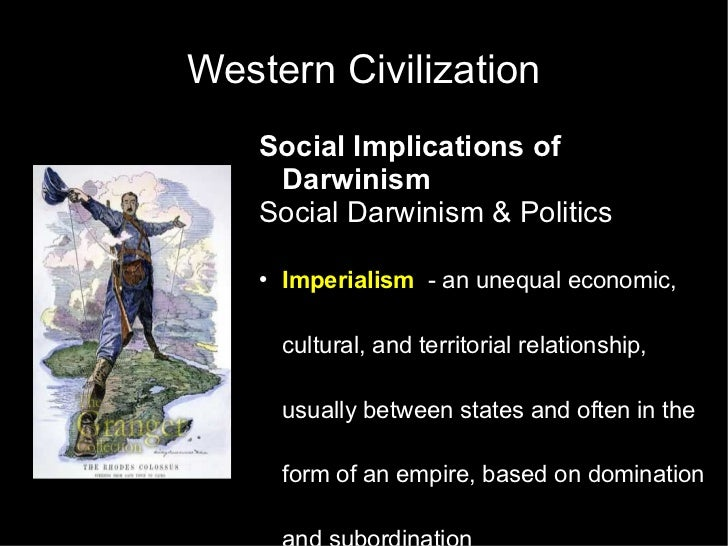 relationship between eugenics and social darwinism imperialism