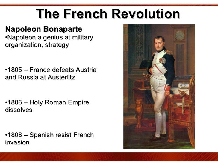 Western civilization was affected by napoleon and french revolution