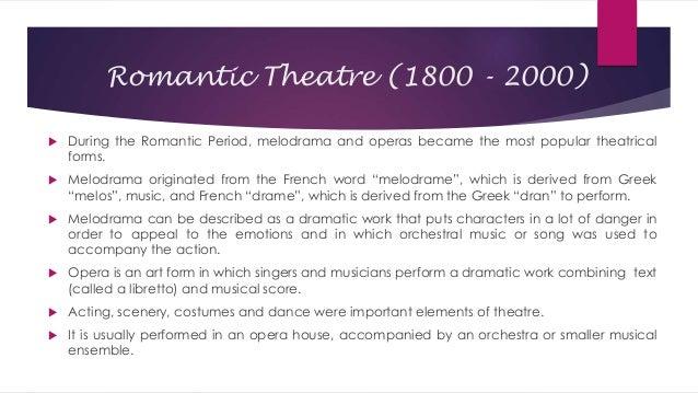 example of romantic opera