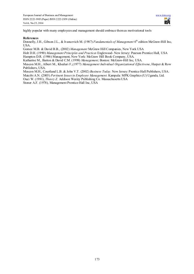 Hawthorne experiment research paper