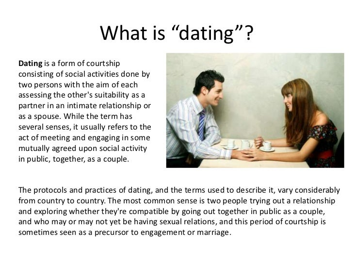 What is dating how to play the dating game